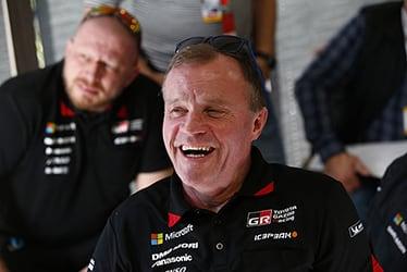 【チーム代表】トミ・マキネン 2018 WRC Round 1 RALLYE MONTE-CARLO