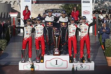 Martin Järveoja / Ott Tänak / Miikka Anttila / Jari-Matti Latvala, driver; 2018 WRC Round 1 RALLYE MONTE-CARLO