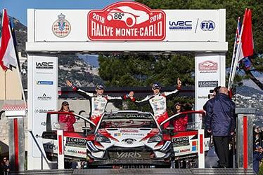 Martin Järveoja / Ott Tänak, driver; 2018 WRC Round 1 RALLYE MONTE-CARLO