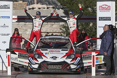 Miikka Anttila / Jari-Matti Latvala, driver; 2018 WRC Round 1 RALLYE MONTE-CARLO