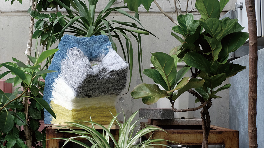 Recycled Fiber Planter