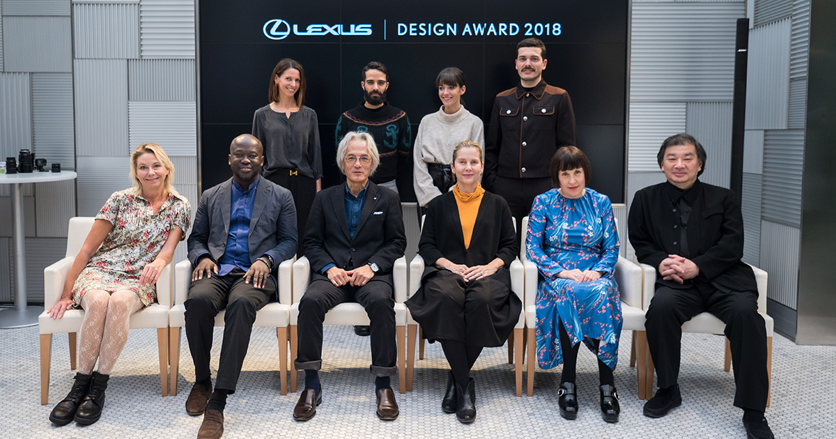 Finalists For Prestigious Lexus Design Award Announced For 2018