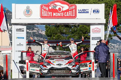 2018 WRC Round 1: Monte Carlo