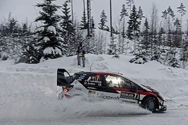 2018 WRC Round 2 RALLY SWEDEN