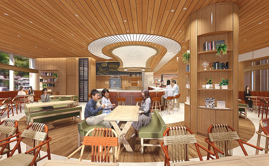 コンセプトカフェ「THE SPINDLE」イメージ