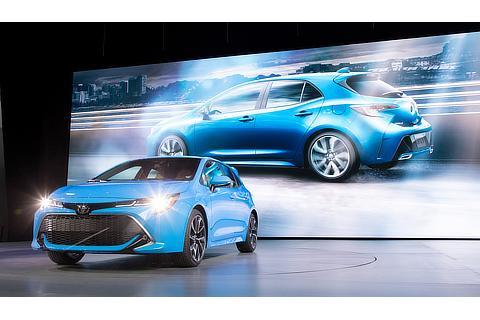 2018年ニューヨーク国際自動車ショー(新型カローラハッチバック)