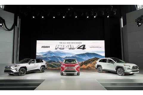 2018年ニューヨーク国際自動車ショー(新型RAV4)