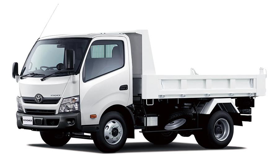 トヨエース TECS 建設用ダンプ(ワイドキャブ・高床・4t積・2WD)<オプション装着車>