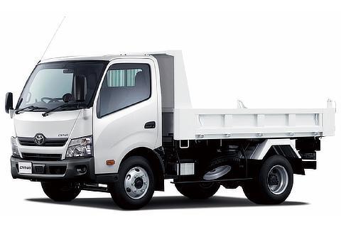 ダイナ TECS建設用ダンプ(ワイドキャブ・11尺デッキ・高床・4t積・2WD)<オプション装着車>