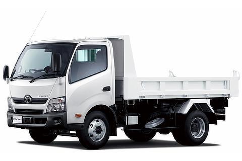 トヨエース TECS建設用ダンプ(ワイドキャブ・11尺デッキ・高床・4t積・2WD)<オプション装着車>
