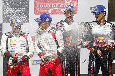 Martin Järveoja / Ott Tänak, driver; 2018 WRC Round 4 RALLY FRANCE