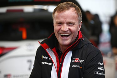 Tommi Mäkinen, Team Principal; 2018 WRC Round 4 RALLY FRANCE