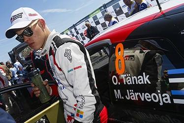 Ott Tänak, driver; 2018 WRC Round 4 RALLY FRANCE