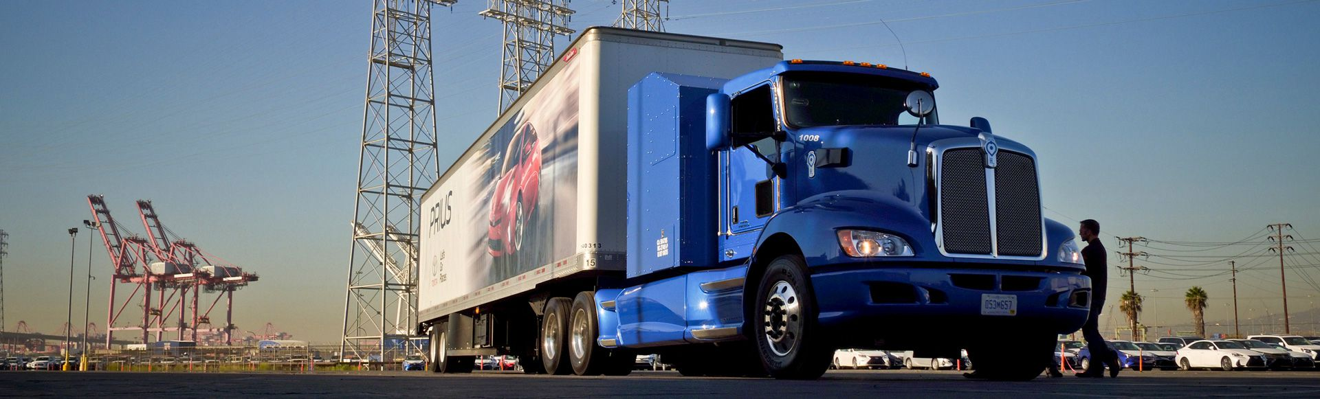 Shell and Toyota move forward with hydrogen facility for freight at Port of Long Beach