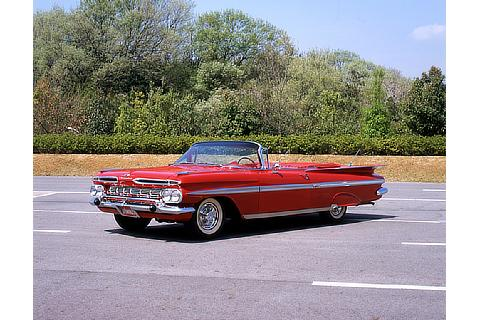 Commemorative Ride Photos Chevrolet Impala (1959)