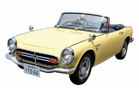 Commemorative Ride Photos Honda S800 (1966)