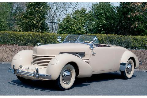 Vehicle Showcase Cord Front Drive Model 812 (1937)