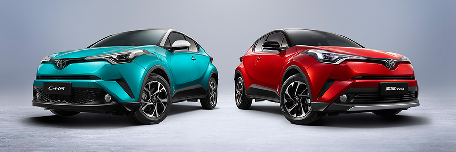 C-HR and IZOA (Internal combustion engine version)