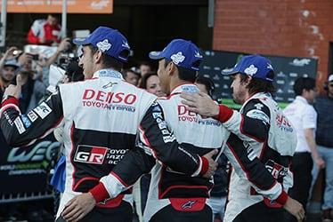 Sébastien Buemi / Kazuki Nakajima / Fernando Alonso, driver; 2018-19 WEC Round 1 Total 6 Hours of Spa-Francorchamps