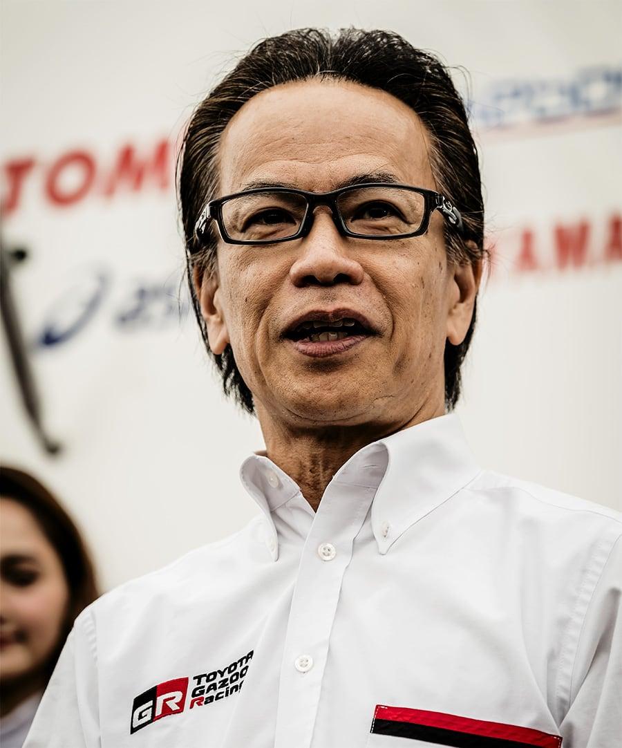 Shigeki Tomoyama: President, GAZOO Racing Company