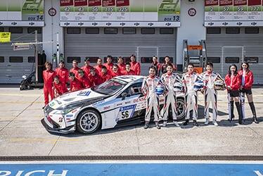 TOYOTA GAZOO Racing Team; 24 Hours of Nürburgring 2018