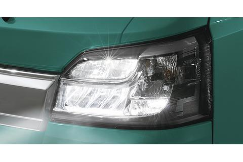 LEDヘッドランプ(ロー/ハイビーム・マニュアルレベリング機能・LEDクリアランスランプ付)