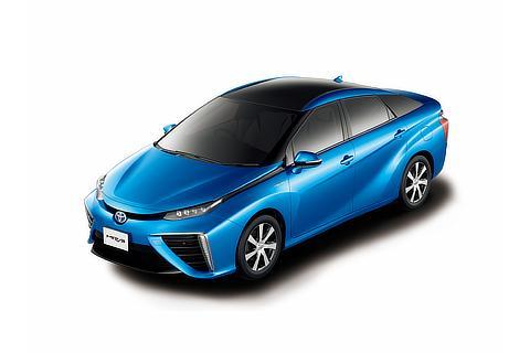 燃料電池自動車「MIRAI」(ツートーン ピュアブルーメタリック)