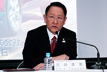 Akio Toyoda, President, Member of the Board of Directors