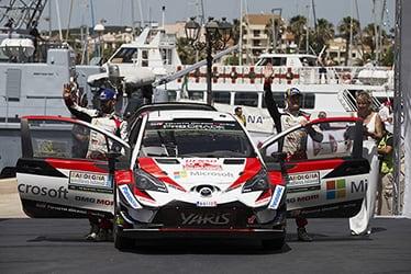 【ドライバー】ヤンネ・フェルム/エサペッカ・ラッピ 2018 WRC Round 7 RALLY ITALIA SARDEGNA