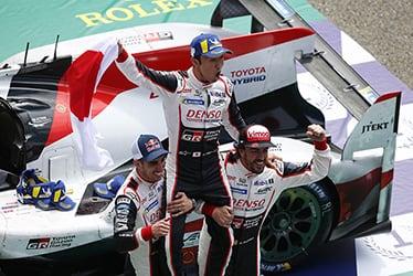 【ドライバー】セバスチャン・ブエミ/中嶋 一貴/フェルナンド・アロンソ 2018-19 WEC Round 2 Le Mans 24 Hours