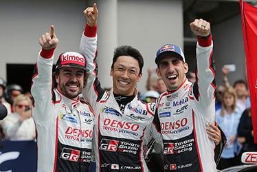 【ドライバー】フェルナンド・アロンソ/中嶋 一貴/セバスチャン・ブエミ 2018-19 WEC Round 2 Le Mans 24 Hours