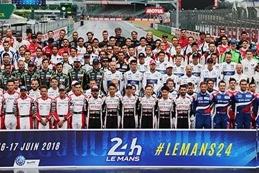 【ドライバー】フェルナンド・アロンソ/中嶋 一貴/セバスチャン・ブエミ/マイク・コンウェイ/小林 可夢偉/ホセ・マリア・ロペス 2018-19 WEC Round 2 Le Mans 24 Hours