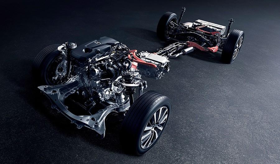 2.5Lダイナミックフォースエンジン(A25A-FXS)ハイブリッドシステム