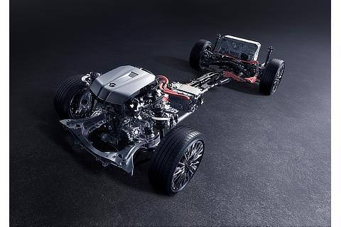 3.5L 8GR-FXS ENGINE+MOTOR・2WD