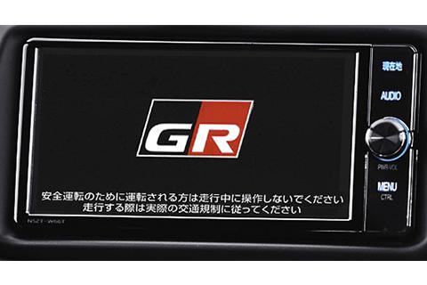 GR T-Connectナビ TOYOTA GAZOO Racing Recorder付(専用オープニング画面)<オプション>
