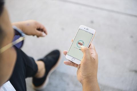カーシェア『Hui』アプリ