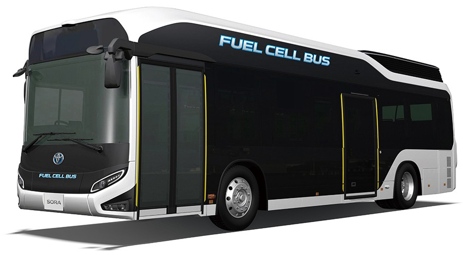 "Fuel Cell Bus ""Sora"""