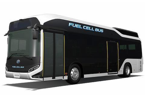 "Fuel Cell Bus ""Sora"""