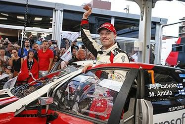 【ドライバー】ヤリ-マティ・ラトバラ 2018 WRC Round 8 RALLY FINLAND