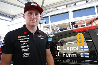 【ドライバー】エサペッカ・ラッピ 2018 WRC Round 8 RALLY FINLAND