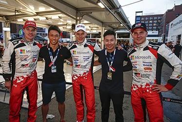 Jari-Matti Latvala / Kazuki Nakajima / Ott Tänak / Kamui Kobayashi / Esapekka Lappi, driver; 2018 WRC Round 8 RALLY FINLAND