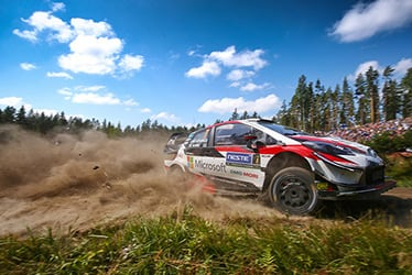 2018 WRC Round 8 RALLY FINLAND