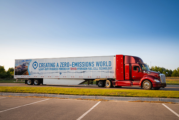 Toyota Doubles-Down on Zero Emissions Heavy-Duty Trucks