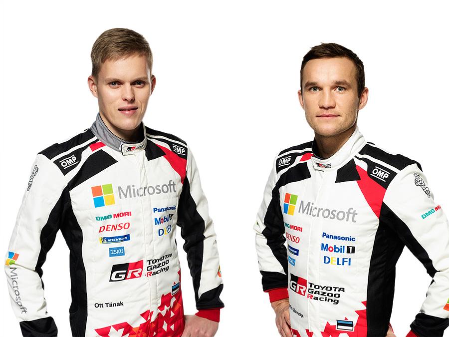 Ott Tänak and Martin Järveoja