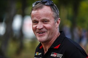 【チーム代表】トミ・マキネン 2018 WRC Round 9 RALLYE DEUTSCHLAND
