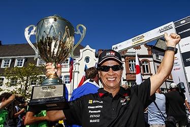 Shigeki Tomoyama, GAZOO Racing Company President; 2018 WRC Round 9 RALLYE DEUTSCHLAND