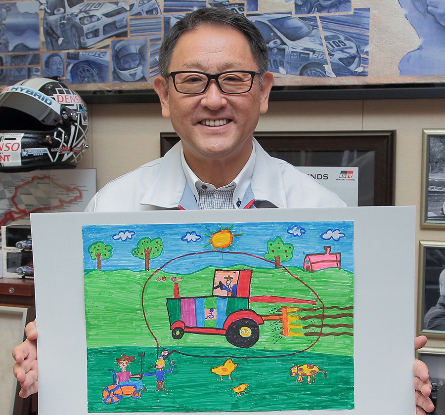 President Akio Toyoda