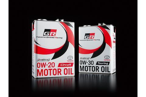 トヨタ純正 GRモーターオイル「Circuit(0W-20)」、「Touring(0W-30)」