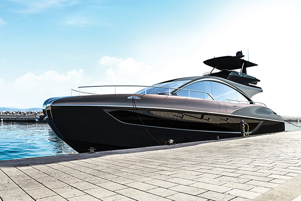 Lexus LY 650 Luxury Yacht Crafted in the Spirit of Amazing
