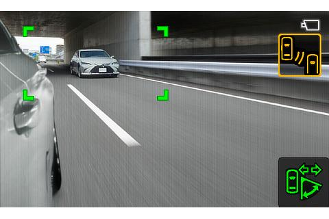 Digital Side-View Monitor (wide range mode)